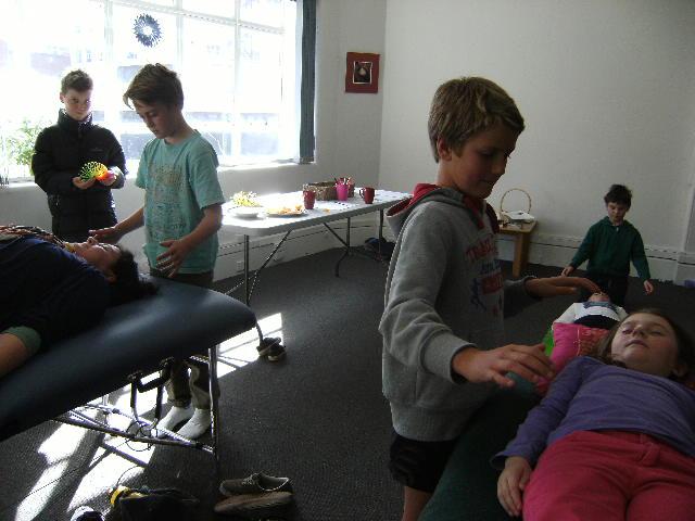 Parent-Child healing class Reconnective Kids