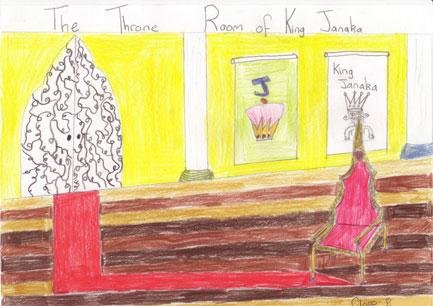 Janaka's throne room my Claire B